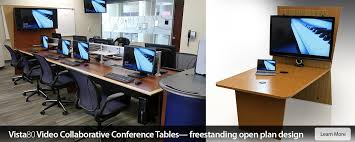 office conference table design. Vista80 Video Collaborative Learning Conference Table Office Design