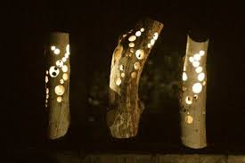 handmade outdoor lighting. Chic And Creative Handmade Outdoor Lighting Design Ideas In Driftwood Solar Lights :