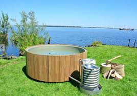 superb cedar hot tub for wood fired hot tub heats organically 2 wood hot tub