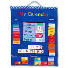 Fiesta Crafts Fabric Star Chart Product Page My Calendar Fabric Wall Chart