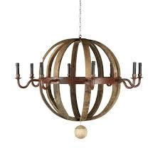 s wine barrel chandelier restoration hardware knock off