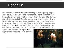 the theme of masculinity in fight club fight