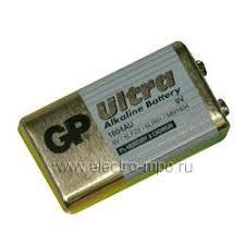 С6520. <b>Элемент питания GP</b> 1604AU-BC1 Ultra (6LR61) 9,0В 0,6 ...