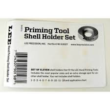 Lee Precision Auto Prime Shell Holder Set