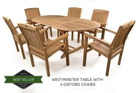 teak garden furniture sets from just teak