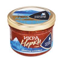 <b>Икра</b> лососевая Русское Море зернистая <b>нерки</b> купить с ...