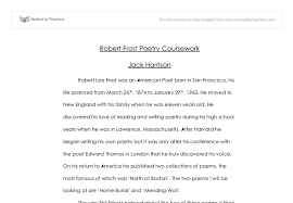 discuss how robert frost uses his poems home burial mending  document image preview