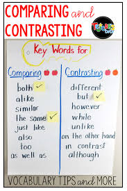 How To Teach Comparing And Contrasting In Reading