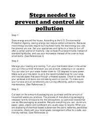 air pollution essay english essay ways to reduce pollution how to prevent pollution essay pevita