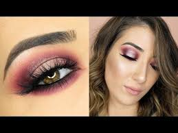 open me here s another look using the new makeup geek x my mua palette i hope you enjo this cranberry halo smokey eye makeup tutorial