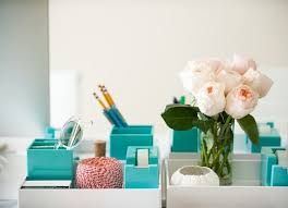 turquoise office decor. Turquoise Office Supplies. #Flower #Rose #Tape Decor Q