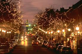 Dc Holiday Lights Tour December 2017 Festivals And Events In Washington Dc Led