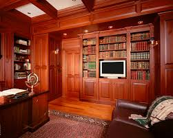 classic home office. Classic Library Traditional-home-office Home Office