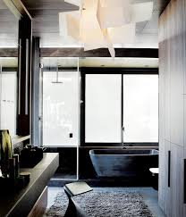 Vanity Stools For Bathrooms Fascinating In The Master Bath Sandblasted Windows Let In Light While Retaining