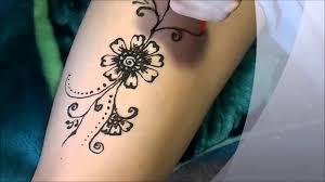 как рисовать хной мехенди для начинающих тату хной в домашних условиях
