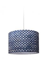 blauw drum pendant light by mind the gap