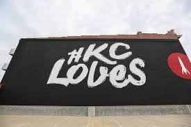 kc loves wall outside barkley