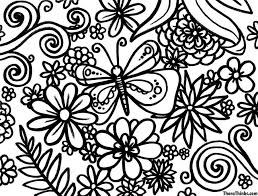 Printable Spring Coloring Pages For Adults Difficult Coloring Pages