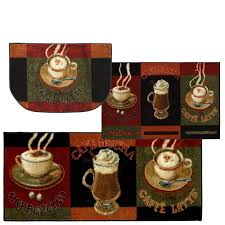 this review is from caffe latte primary 2 6 ft x 3 10 ft kitchen mat 3 piece set