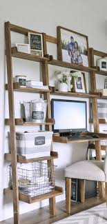 Ana White | Build a Leaning Ladder Wall Bookshelf | Free and Easy DIY  Project and