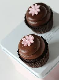 chocolate cupcake with cream cheese frosting. Wonderful Cheese Chocolate Cupcakes U0026 Luscious Chocolate Cream Cheese Frosting On Cupcake With Cream Cheese Frosting C
