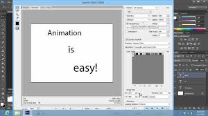 how to create animation in photo cs6