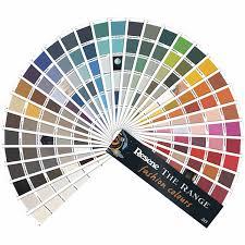 Resene Paint Chart The Range Fashion Colours Fandeck