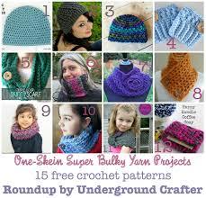 Super Bulky Yarn Patterns