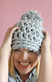 Bulky Yarn Crochet Hat Patterns Delectable 48 Minute Easy Chunky Crochet Beanie Persia Lou