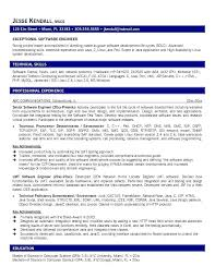 Best Resume Format For Software Developer Resume Format For Software Developer Fresher Sample Resume Computer