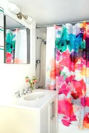 bright shower curtains shower curtain instead of shower door bathroom contemporary with bright shower curtain polyester bright shower curtains