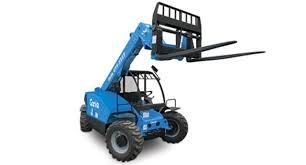 Genie 5519 Load Chart Forklift Telehandler 5519 Genie Rentals Portland Or Where