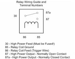 where to get normally closed relay or something like it usually 87a pin