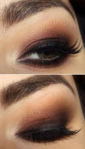 brown eyes smokey makeup