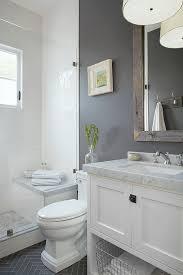20 Stunning Small Bathroom Designs | Grey white bathrooms, Bathroom designs  and Gray