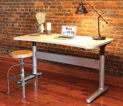 updesk upwrite adjule height desk with a whiteboard writing surface i wonder if that could be made into a smart board
