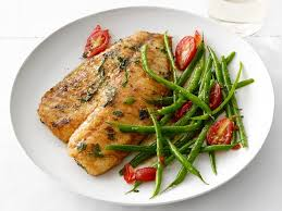 tilapia with green beans recipe food