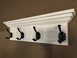 Mounted Coat Rack With Shelf Furniture Wall Mounted Coat Rack New Wall Mounted Coat Rack Llarg 59