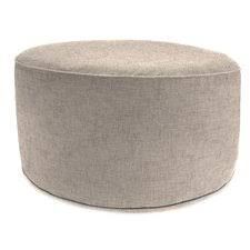 Collapsible Cushion Ottoman