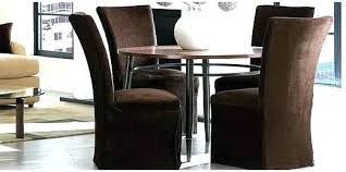 stretch dining room chair covers unbelievable 1 piece sure fit soft stretch spandex pattern chair covers