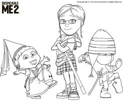 Despicable Me Coloring Pages Free For Kids To Print Printables 42