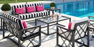 to host back and white meet greet during casual market castelle outdoor furniture patio