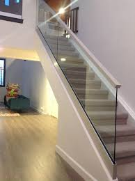 glass stairs top base shoe mountmission viejo ca