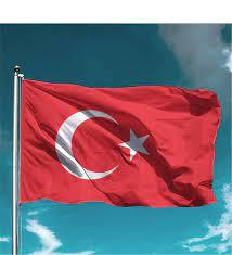 Türk Bayrağı 70X105 Cm- Raşel Kumaş- Çiçeksepeti