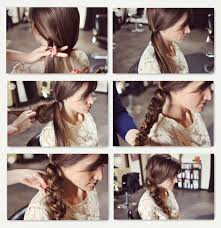 messy braid tutorial with best clip on brown human hair extensions for thin hair