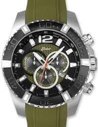 olive green chronograph a9840 grn belair men sport wrist watch click
