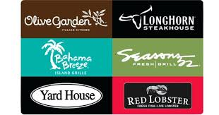 can i use olive garden gift card at red lobster