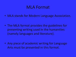 Mla Format Mla Format Titles Headings Margins In Text Citations