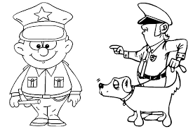 Policeman Coloring Police Coloring Pages Police Officer Coloring