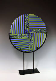 work with pattern bars and strips of glass